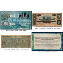 Civil War Coin and Currency Collection