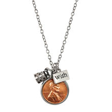 Wishing Well Penny Charm Necklace