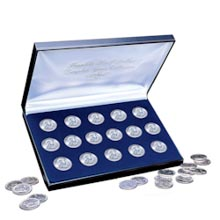 Complete Franklin Silver Half Dollar Collection 1948-1963