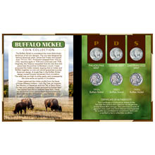 Buffalo Nickel Coin Set