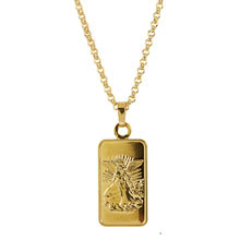 Angel Ingot Pendant Layered in 24 KT Gold