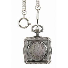 1800's Liberty Nickel Pocket Watch