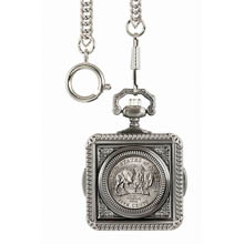 Westward Journey Bison Nickel Pocket Watch