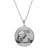 Sterling Silver Necklace with Silver Panda Coin