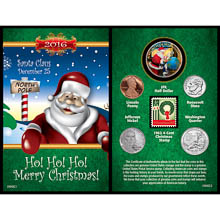 A Year To Remember Santa Card