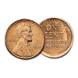 Brilliant Uncirculated 1909 VDB Cent