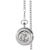 Monogrammed Silver Walking Liberty Half Dollar Pocket Watch