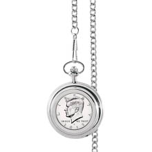 Monogrammed Proof JFK Half Dollar Pocket Watch