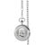 Monogrammed Silver Franklin Half Dollar Pocket Watch