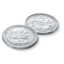 America's First Commemorative Coin - the Columbian Exposition Silver Half Dollar
