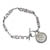 Seated Liberty Silver Dime Inspirational Dream Wish Love Laugh Joy Coin Bracelet