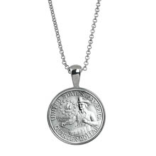 Bicentennial Washington Quarter Coin Pendant