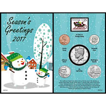 2017 Snowman Greeting Card
