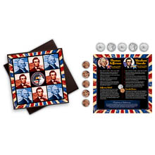 Travel Tic Tac Toe Coin Set