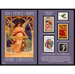 Christmas Angel Stamp Collection