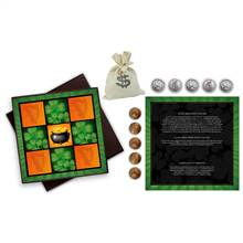 Irish Tic Tac Toe Coin Box Set