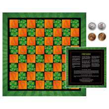 Irish Checker Coin Checker Set