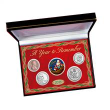 2018 Santa Year To Remember Coin Box Set