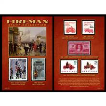 Fireman Stamp Collection