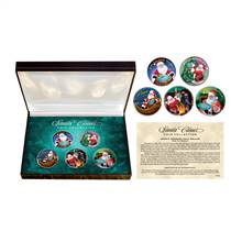 Santa Claus JFK Half Dollar Coin Box Set