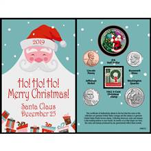 Santa Year To Remember 2019 Coin Christmas Card