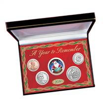 2019 Year To Remember Santa Coin Box Set