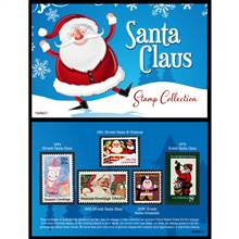 Santa United States Postage Stamp Card