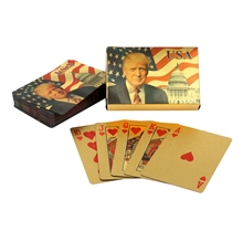 Trump 24 KT Gold Foil Playing Cards