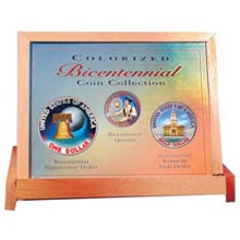 Bicentennial Coin Collection in FULL COLOR
