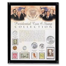 Presidential Coin and Stamp Collection