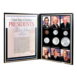 First Year of Issue United States of America Presidential Collection