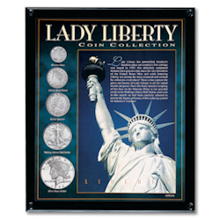 Lady Liberty Coin Collection