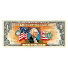 The Colorized $1 Bill