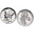 Silver Mercury Dime Cuff Links