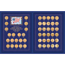 The Complete Gold-Layered Statehood Quarter Collection 1999-2008