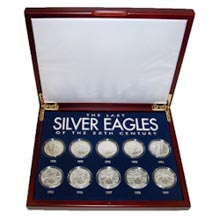 The Last Silver Eagles of the 20th Century
