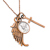 Mercury Dime Cross and Wing Coppertone Pendant