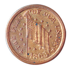 Genuine Historical Civil War Token