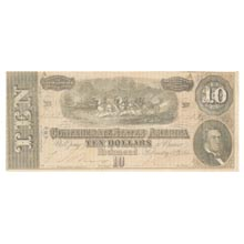 Confederate Bank Note