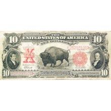 "Unique ""Buffalo Note"" from The Old West"