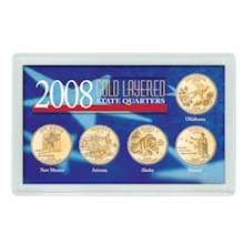 2008 Gold-Layered State Quarters