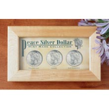 Peace Dollar Collection P, D, S