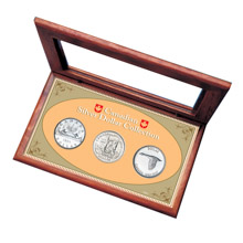 Canadian Silver Dollar Box Set