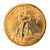 Tribute to America's Most Beautiful Coins - $20 Saint Gaudens Gold Piece 1907-1933 Replica Coin