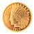 Tribute to America's Most Beautiful Coins - $10 Indian Head Gold Piece 1907-1933 Replica Coin