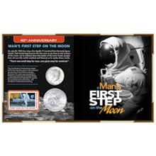 40th Anniversary Man's First Step on the Moon