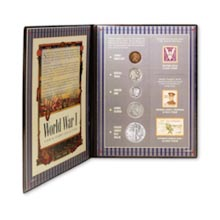 World War I Coin and Stamp Collection
