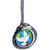 World Peace Spnner Pendant with Colorized Walking Liberty Silver Half Dollar