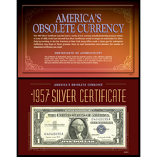 America's Obsolete Currency - 1957 Silver Certificate