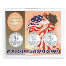 Walking Liberty Half Dollar Collection